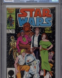 Star Wars (1977 series) #107 [Direct Edition]