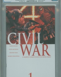 Civil War (2006 series) #1 [Standard Cover]