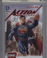 Action Comics (2011 series) #19 [Tony S. Daniel Variant Cover]