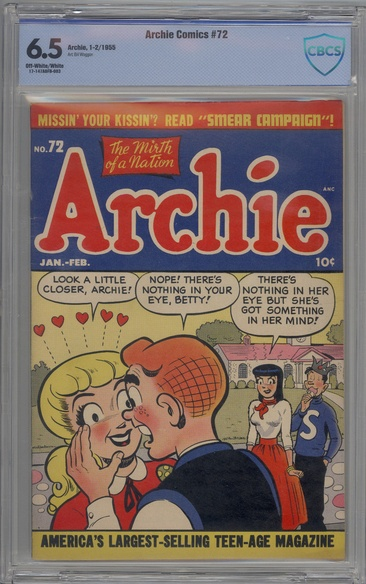 Archie Comics (1942 series) #72