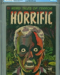 Horrific (1952 series) #5