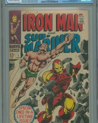 Iron Man & Sub-Mariner (1968 series) #1