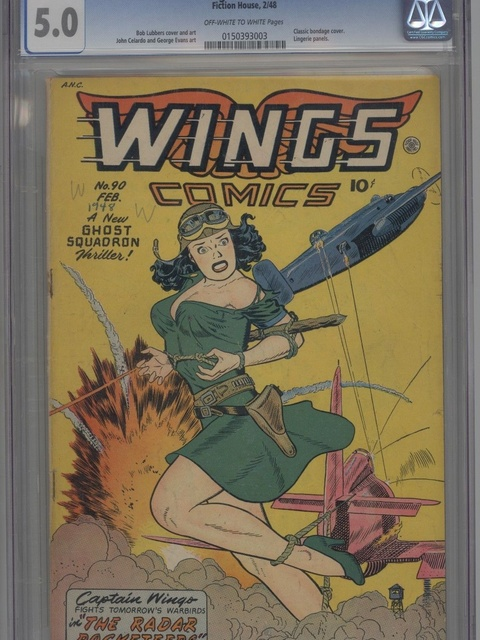 Wings Comics (1940 series) #90