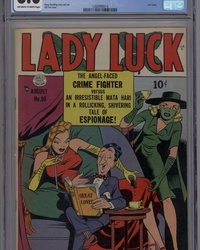 Lady Luck (1949 series) #90