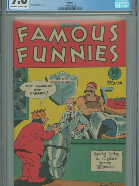 Famous Funnies (1934 series) #140