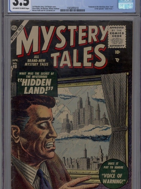Mystery Tales (1952 series) #40