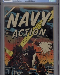 Navy Action (1954 series) #2