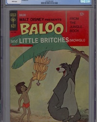 Walt Disney Presents Baloo and Little Britches (1968 series) #1