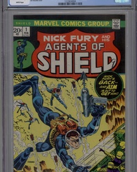 SHIELD [Nick Fury and His Agents of SHIELD] (1973 series) #1