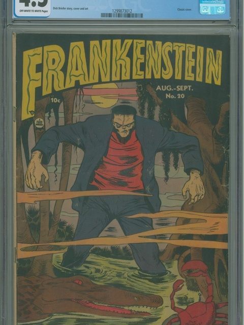Frankenstein (1945 series) #v3#4 (20)