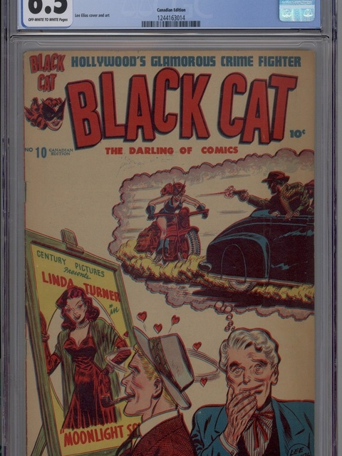 Black Cat (1946 series) #10