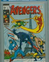 The Avengers (1963 series) #71