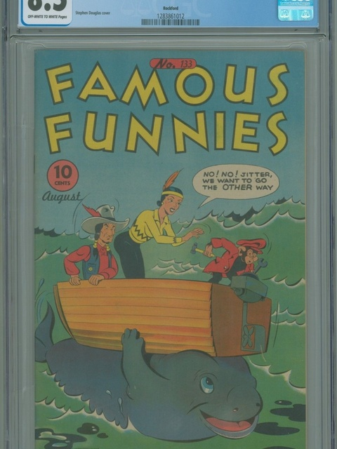 Famous Funnies (1934 series) #133