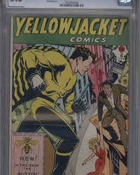 Yellowjacket Comics (1944 series) #8