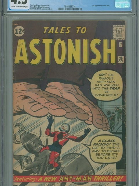 Tales to Astonish (1959 series) #36