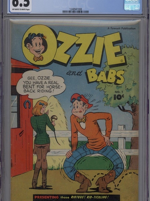 Ozzie and Babs (1947 series) #1
