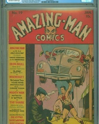 Amazing Man Comics (1939 series) #19
