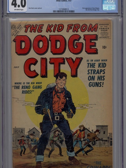 The Kid from Dodge City (1957 series) #1