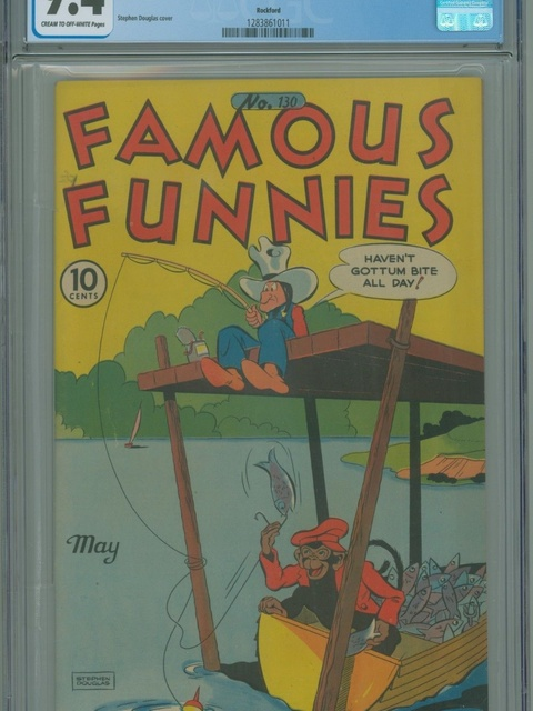 Famous Funnies (1934 series) #130