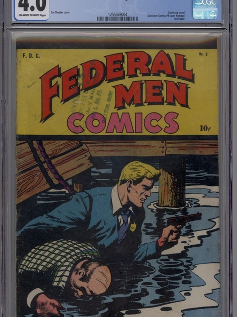 Federal Men Comics (1945 series) #2