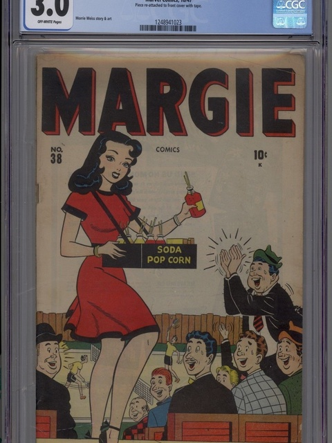 Margie Comics (1946 series) #38