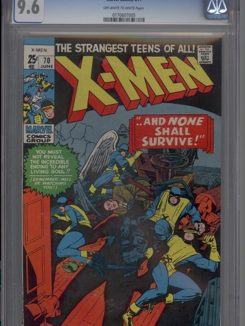 The X-Men (1963 series) #70