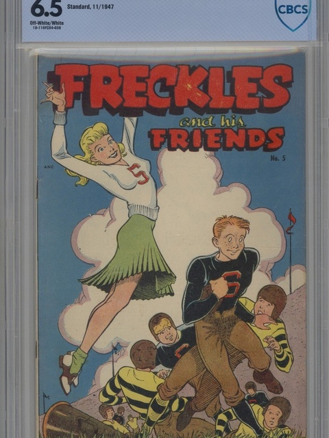 Freckles and His Friends (1947 series) #5