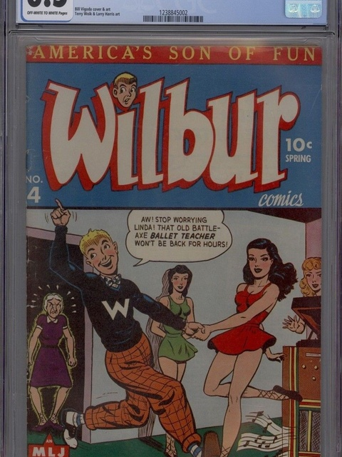 Wilbur Comics (1944 series) #4