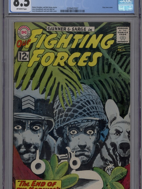 Our Fighting Forces (1954 series) #71