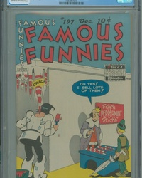 Famous Funnies (1934 series) #197