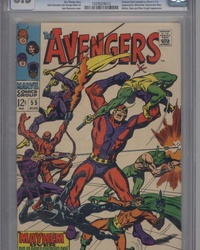 The Avengers (1963 series) #55
