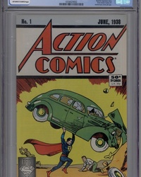 Action Comics [50¢ Cover] (1988 series) #1