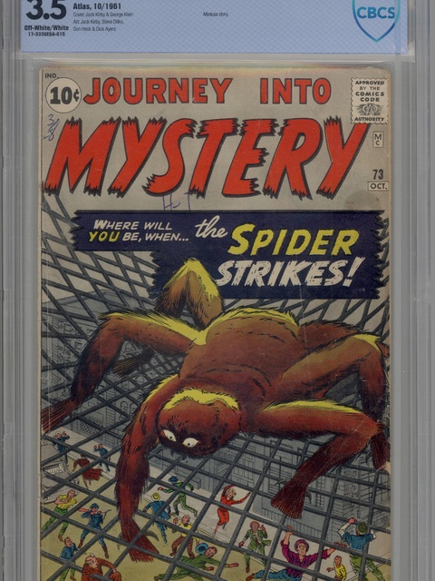 Journey into Mystery (1952 series) #73