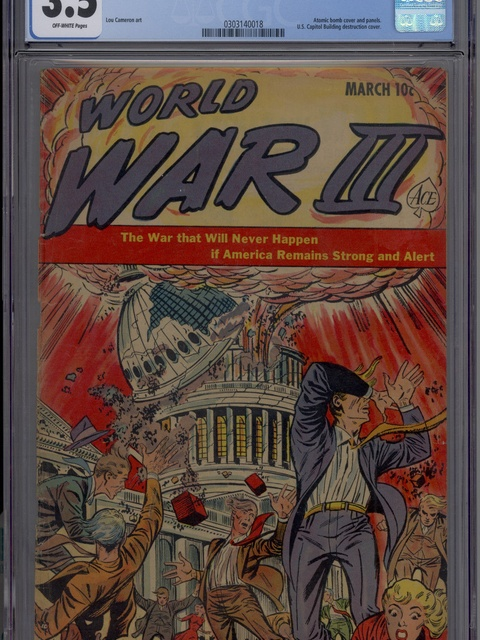 World War III (1952 series) #1