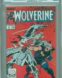 Wolverine (1988 series) #2 [Direct Edition]