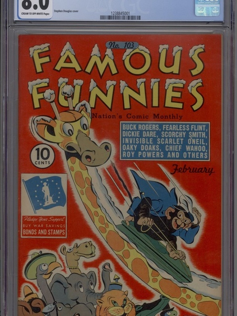 Famous Funnies (1934 series) #103
