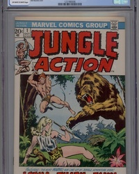 Jungle Action (1972 series) #1