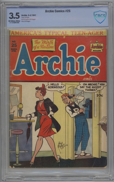 Archie Comics (1942 series) #25