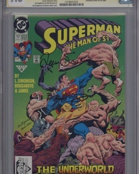 Superman: The Man of Steel (1991 series) #17 [Direct Edition]