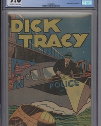 Dick Tracy [Popped Wheat Giveaway] (1947 series) #[nn]
