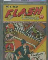 Flash Comics (1940 series) #5