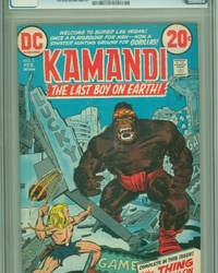 Kamandi, The Last Boy on Earth (1972 series) #3