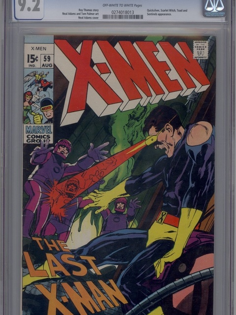 The X-Men (1963 series) #59 [Regular Edition]