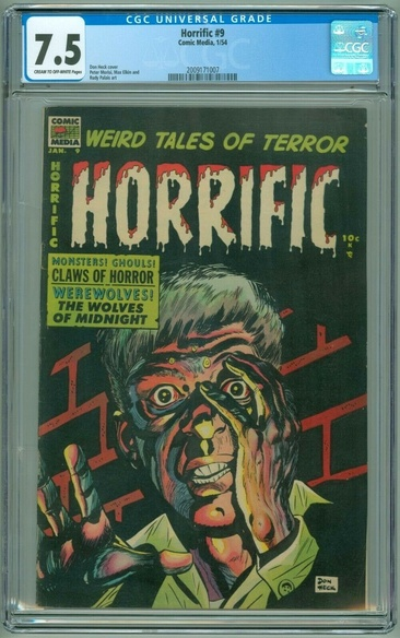 Horrific (1952 series) #9