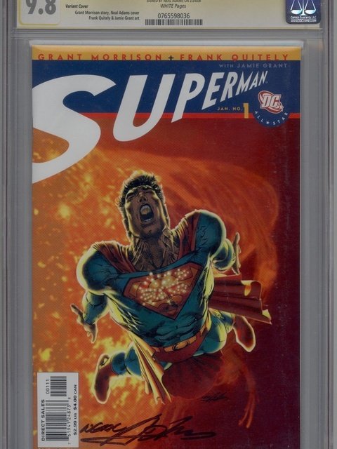 All Star Superman (2006 series) #1 [Variant Cover]