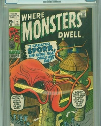 Where Monsters Dwell (1970 series) #2