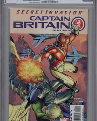 Captain Britain and MI: 13 (2008 series) #1 [Variant Edition]