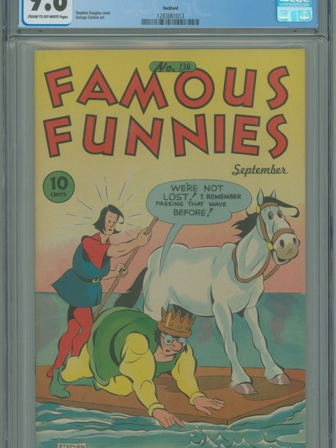 Famous Funnies (1934 series) #134