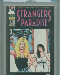 Strangers in Paradise (1993 series) #1