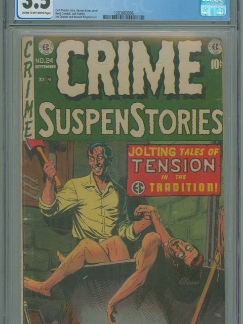 Crime SuspenStories (1950 series) #24